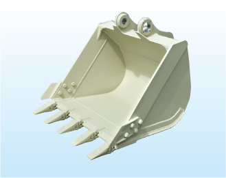 Bucket (for hydraulic excavator)