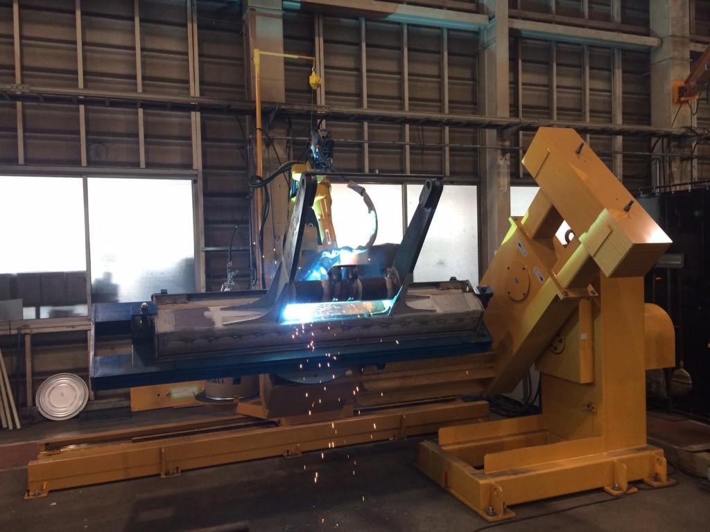 神戸製鋼製 溶接ロボットシステム